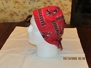 Handmade NFL Tampa Bay Buccaneers Surgical Scrub Hats