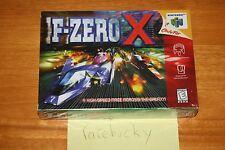 F-Zero X (N64 Nintendo 64) - NEW SEALED V-SEAM, NEAR-MINT, RARE!