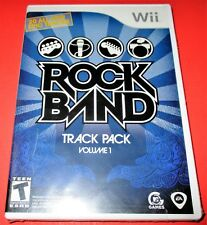 Rock Band Track Pack: Vol. 1 Nintendo Wii *Brand New! *Free Shipping!