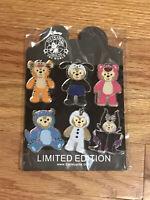 Disney DUFFY BOOSTER Pins & Free Lanyard- Pick boy/girl