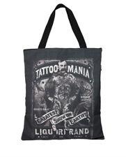 Liquor Brand Tattoo Mania Punk Goth Ink Adult Womens Purse Tote Bag TB-087