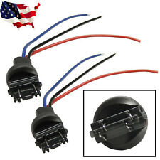 2pcs 3156/3157 Male Adapter Wiring Harness Headlight Tail Lamp Signal Retrofit