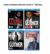 Luther Complete Collection Series 1 - 4 Blu Ray All Season 1 2 3 4 UK Release R2