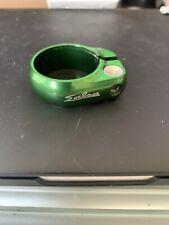 Salsa Cycles Lip lock Seat Collar 34.9 Green used