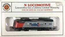 Bachmann N Scale Amtrak 61555 EMD F9 Diesel Locomotive