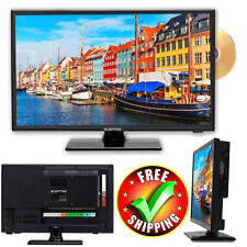 """HD LED TV Sceptre 19"""" Refurbished Class 720P Small 16:9 Cabinet Home With Stand"""