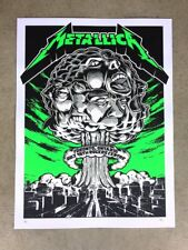 Metallica 2017 Toronto, Ontario Artist Proof Poster by Acorn