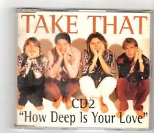 (HX217) Take That, How Deep Is Your Love - 1996 CD