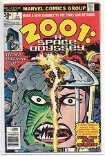 2001: A Space Odyssey #2 (Jan 1977, Marvel) Jack Kirby