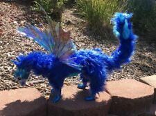 Blue Fairy Dragon-Handmade Posable Art Doll
