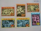 1971 NFL Playoff cards complete set minus 1. 1972 Topps #133 - 139, missing 138.