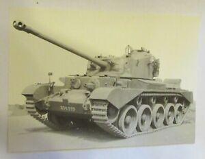 British Comet Tank I Tank. Imperial War Museum KID 957. Old Postcard