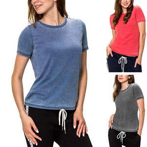 Only Damen T-Shirt Basic Shirt Damenshirt Kurzarmtop Kurzarmshirt Rundhals SALE