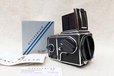 Hasselblad 501CM + A12 6x6 Film Back + WLF + Acute Matte D 42215 Focusing Screen