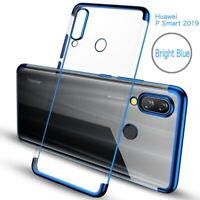 For Huawei Honor 20 Pro 10 Lite P Smart Z Plating Soft Silicone Clear TPU Case