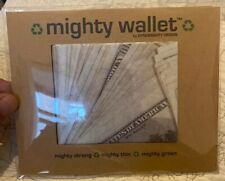DYNOMIGHT DINERO MIGHTY WALLET TYVEK New In Package