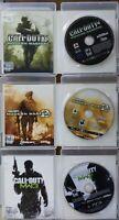Call of Duty Modern Warfare 1 + 2 + 3 PlayStation 3 (PS3) Lot of 3 MW MW2 MW3