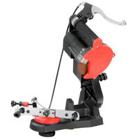 Electric Chainsaw Sharpener Grinder Chain Saw Bench Mount With Brake And Wheel