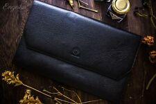 Wancher Japan Genuine Leather Handmade Fountain Pen Case 13 Pens Brand New