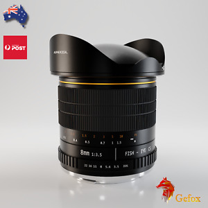 8mm f/3.5 Super Wide Fisheye Lens Camera Lens for Nikon