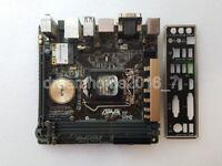ASUS Z97I-PLUS Motherboard LGA1150 Intel Z97 DDR3 VGA HDMI DVI DP With I/O