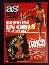 REVISTA AS COLOR 379 RAYO VALLECANO-AT.MADRID-SEVILLA-VALENCIA-ARGENTINA-BOXEO