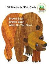 Brown Bear Brown Bear, What Do You See?by Bill Martin Jr.Board book Free Shipp
