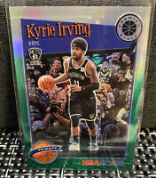 2019-20 NBA Hoops Premium Stock KYRIE IRVING GREEN Prizm Tribute Nets SSP #290