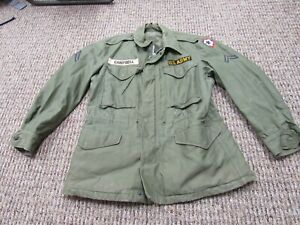 Korean War US Army M-1951 field jacket with Army Service Forces