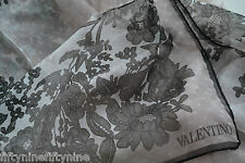 New VALENTINO Silk Chiffon scarf / Shawl  MADE IN ITALY  Womens  gift ( £225 )