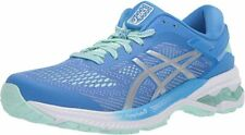 ASICS Women's Gel-Kayano 26 Running Shoe, Blue Coast/Pure Silver, 7 B(M) US