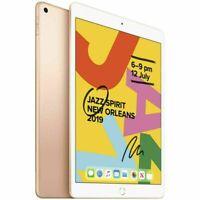 """Apple iPad 7th Gen. 128GB WiFi Unlocked 10.2"""" GOLD MW6D2X/A[AU STOCK] AS NEW"""