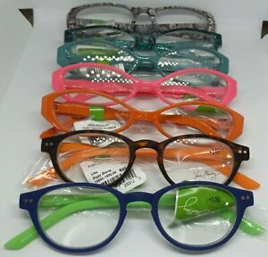Vera Bradley Readers Reading Eyeglasses and Case Multiple Patterns Avail. NWT