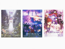 Fate / stay night [Heaven's Feel] - Anime movie mini poster set of 3 versions
