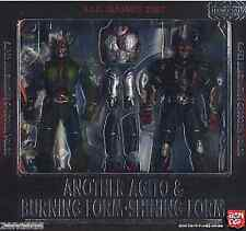 Used Bandai S.I.C Classics 2007 Kamen Rider Another Agito & Burning F/S PAINTED