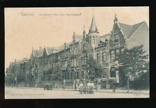 Belgium Flanders COURTRAI KORTRIJK Boulevard dag cart post?? 1900s u/b PPC