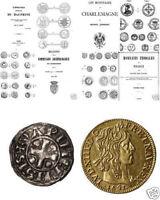 DVD 388 Bücher auf Frankreich Münzen Medaillen feodal Napoleon frank ecu denier