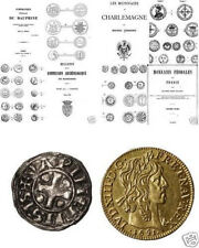 DVD 300 Bücher auf Frankreich Münzen Medaillen feodal Napoleon frank ecu denier