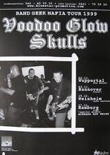 """Voodoo Glow Skulls TOUR POSTER """"nastro Geek' 99"""""""
