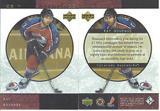 RAY BOURQUE 2000-01 Upper Deck ICE - INSERT CARD - ICE RINK FAVORITES #FP3
