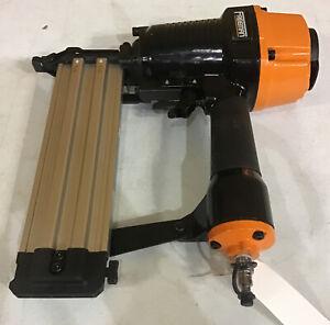 2.5 in. Heavy Duty 14-Gauge Pneumatic Concrete T-Nailer w/ Trigger Safety Lock