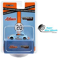 Tarmac Works x Schuco 1:64 Volkswagen Beetle Blue Orange - Diecast Model