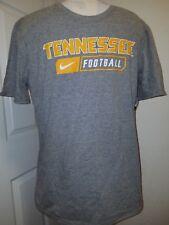 #1161 Large Tennessee Football Nike Core SS Tee Dark Heather Gray NWT