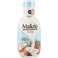 Bagno Malizia Cocco rilassante lt. 1 x 8 bottiglie BATH FOAM COCONUTH MILK RELAX