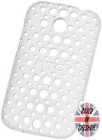 HTC Desire C Hard Shell Case Dots Back Cover Clear