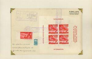Nicaragua WATERLOW Sports Specialized REG FDC Scott #C298 3c TABLE TENNIS $$$
