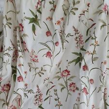 Dunelm Country Cottage Floral Lined Curtains W66 X L54 Inches
