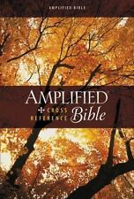 Amplified Cross-Reference Bible by Zondervan Staff ^ Hardcover w Dust Jacket