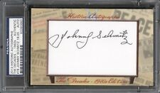 2013 Historic JOHNNY SCHMITZ Autograph Card PSA/DNA Authenticated Signed /25