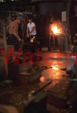 Viking Glass Blower Factory Worker West Virginia WV 1974 Kodak 35mm Slide 5